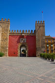 Gate to Real Alcazar, Sevilla, Spain — Stock Photo