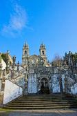 """Santuário português """"bom jesus monte"""" — Fotografia Stock"""