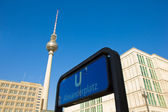 Alexanderplatz, Berlin, Germany — Stock Photo