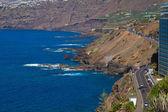 Ocean coast at Puerto de la Cruz, Tenerife, Spain — Stock Photo