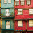 Old town houses, Porto, Portugal — Stock Photo