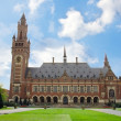 Peace Palace in The Hague, Holland — Stock Photo