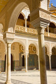 The interior patio of Casa de Pilatos, Seville — Stock Photo