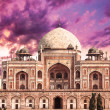 Tomb of Humayun in Delhi - Stock Photo