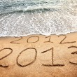 New year 2013 is coming — Stock Photo