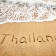 Stock Photo: Thailand on sand