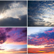 Royalty-Free Stock Photo: Dramatic sky collection