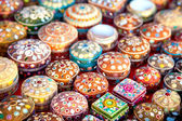 Jewel boxes in market — Stock Photo