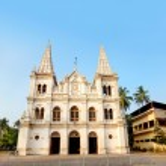 Santa Cruz basilica in Kochi — Stock Photo