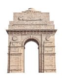 India Gate isolated on white — Stock Photo