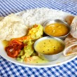 Indian food in restaurant — Stock Photo