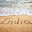 Stock Photo: Indion beach