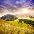 Stock Photo: Mountains in Kazakhstan
