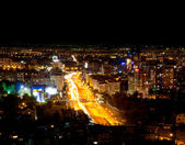 Night Almaty city — Stock Photo