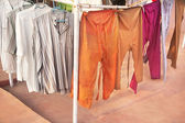 Indian shirts and pants — Stockfoto