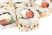 Sushi isolated on white background — Stock Photo