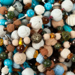 Stock Photo: Beads background