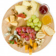 Various types of snack - Stock Photo