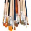 Royalty-Free Stock Photo: Paint brushes on white