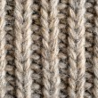 图库照片: Wool knitted background closeup