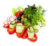 Insalata di verdure sana — Foto Stock