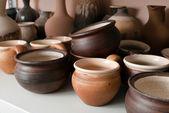 Cerâmica olaria de barro — Foto Stock