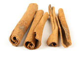 Cinnamon. Spice isolated on white background — Stock Photo