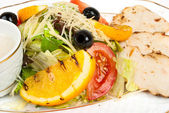Salad with chiken — Foto Stock