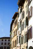 Huizen in italiaanse stad — Stockfoto