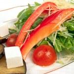 Salad isolated on white — Stock Photo #11914572