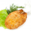 Stock Photo: Chicken cutlet