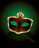 Karnaval maskesi — Stok Vektör