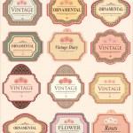 Vintage Labels — Stock Vector #11059158