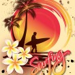Surfer - Stock Vector