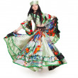 Gipsy dancer — Stock Photo