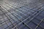 Reinforcement metal framework — Stock Photo