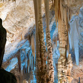 Stalactite stalagmite cavern — Stock Photo