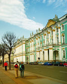 Winter Palace (Hermitage museum) S.Petersburg, Russia. — Stock Photo