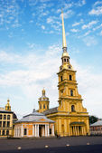 Peter and Paul Church in Peter and Paul's Fortress — 图库照片