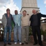 Sean Bean, Christian Slater, Ving Rhames and M. Korostishevsky. — Stock Photo