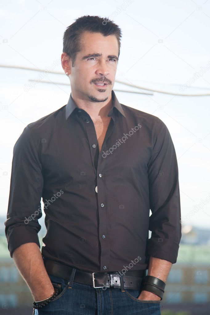 MOSCOW, RUSSIA, AUGUST, 8: Actor Colin Farrell. Premiere of the movie Total Recall, August,8, 2012 at RITZ HOTEL in Moscow, Russia  Stock Photo #12388865
