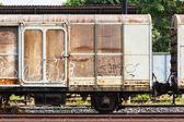 Railroad container — Stock Photo