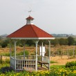 Stock Photo: Wooden gazebo