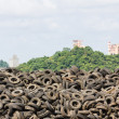 Old Tires heap — Stock Photo