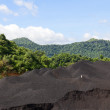 Coal Stockpile — Stock Photo
