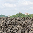 Old Tires heap - Foto de Stock
