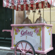 Ice cream cart — Stock Photo
