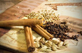 Mix of aromatic spices — Stock Photo
