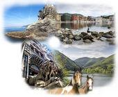 Landschaften, flora und fauna von ligurien — Stockfoto