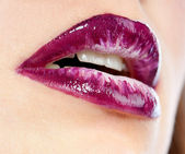 Beautiful woman's lips — Stock Photo